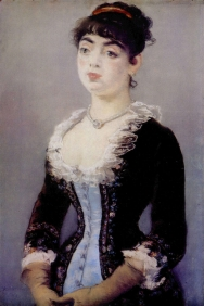 Stampe famose Manet RITRATTO MADAME MICHEL LéVY