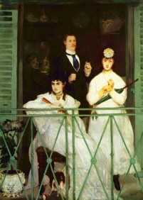 Stampe famose Manet IL BALCONE