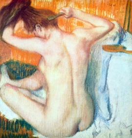 Stampe famose Degas DONNA IN BAGNO 2