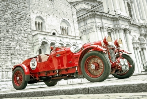Stampe famose ELTANO86  Mille Miglia 2016