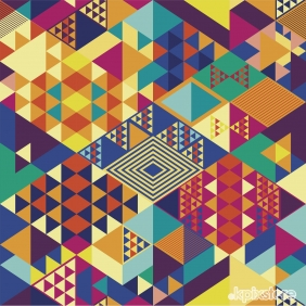 Stampa Quadrate Various Artists DECORAZIONI GEOMETRICHE