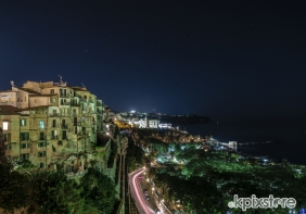 Stampe famose Angelo D'Ambrosio TROPEA BY NIGHT
