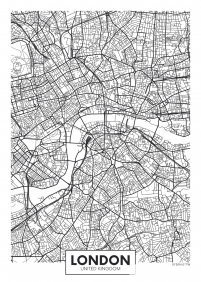 Stampa Mappe geografiche Various Artists LONDON MAP