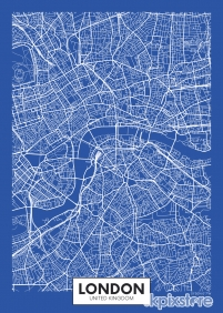 Stampa Mappe geografiche Various Artists LONDON MAP 3