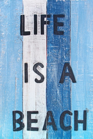 Stampe famose Various Artists  Life is a beach