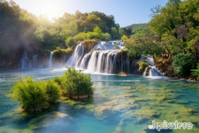 Stampa Natura Various Artists KRKA WATERFALLS